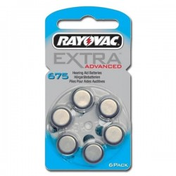 Batterie tipo 675 Rayovac Blister 6 pz.